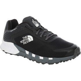 The North Face Flight Trinity Shoes Men dark shadow grey/tnf black